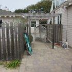 Before exterior improvement, Pacific Grove